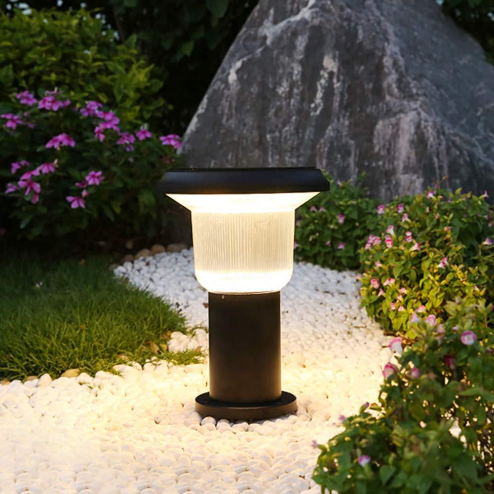 SHYYL Luces solares para jardín, Luces LED de jardín, Impermeables, para decoración de Paisaje al Aire Libre: Amazon.es: Jardín
