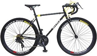 DEEPER(ディーパー) 700×28C ロードバイク DE-3048 フレームサイズ480mm シマノ21段変速 前輪クイックレリーズ LEDライト装備 JIS耐振動試験合格フレーム採用 700C 2wayブレーキシステム 自転車 初心者 エントリーモデル