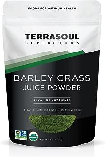 Terrasoul Superfoods Barley Grass Juice Powder (Organic), 5 ounce
