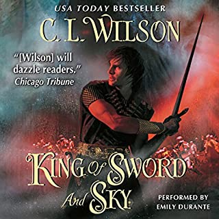 King of Sword and Sky audiobook cover art