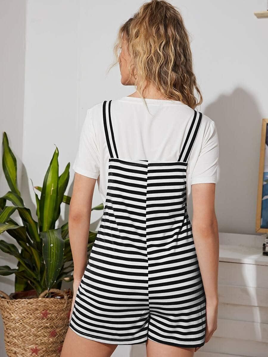 Denver Mall Shreem85 Maternity Dress Two Straps Striped Tone Knot Free shipping on posting reviews