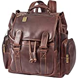 Claire Chase Legendary Jumbo Backpack, Dark Brown, One Size