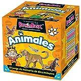 BrainBox Animales - Juego de Mesa en Español