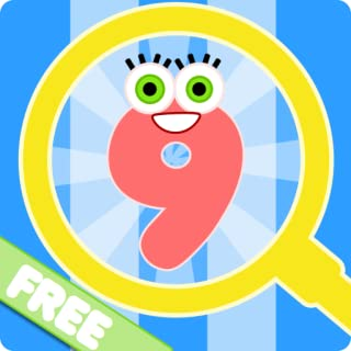 Find The Hidden Numbers – A Free Fun 0-9 Number Learning Game for Toddlers and Young Children in Kindergarten and Preschool
