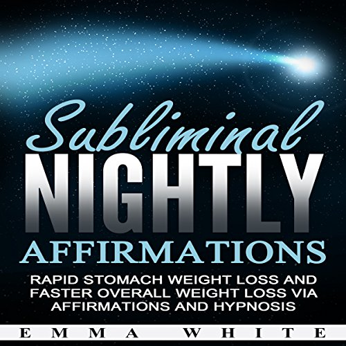 Subliminal Nightly Affirmations audiobook cover art
