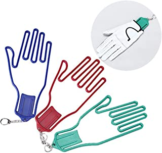 Infgreate Stylish Warm Outdoor Sports Gloves 1Pc Golf Holder Rack Dryer Hanger Plastic Stretcher Shaper Tool Bracket
