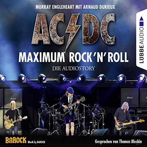 AC/DC - Maximum Rock'N'Roll audiobook cover art