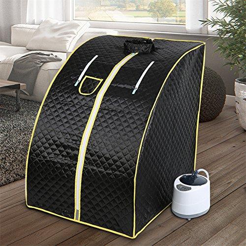 1000W, sauna portatile, sauna, portatile a vapore, Promuove la circolazione sanguigna e mantiene una buona salute