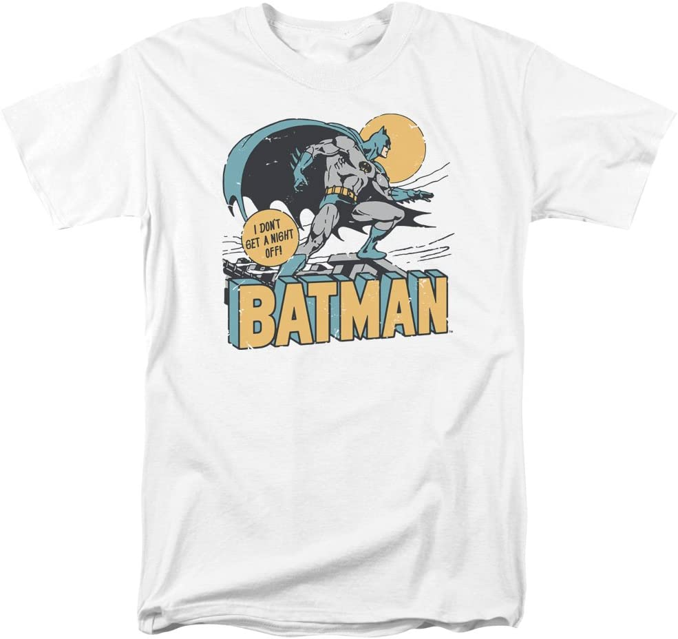 DC Comics Batman Vintage Retro Style New Shipping Free Shipping I Night A Ad Off Don't Get Max 76% OFF