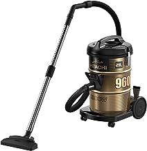 HITACHI Vacuum Cleaner 2200 Watts, 21 Liters,Black - CV-960F SS220 BK