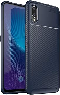 FugouSell Advanced Vivo Nex S Case with Surface and Surface Interior Accessory case Cover for Vivo Nex S -Dark Blue