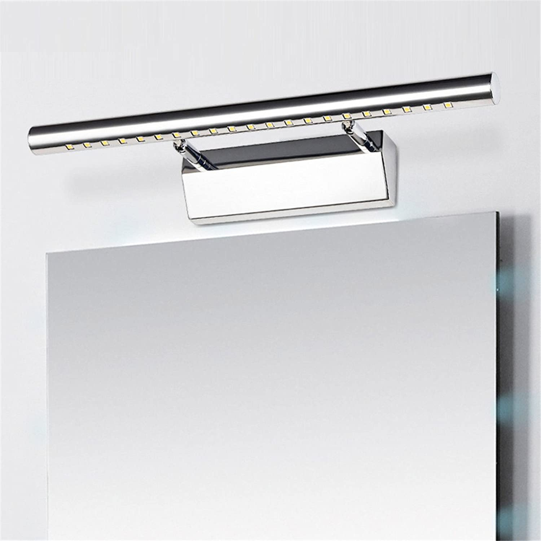LED-Spiegel vorderen Leuchte moderne, minimalistische Badezimmer Spiegelschrank Badezimmer lampe wasserdicht Wand Leuchte Make-up-Spiegel Lampe, 7W, warm-weies Licht, mit Schalter
