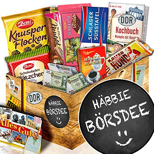Häbbie Börsdee + Geschenke zum Geburtstag + DDR Schoko - Geschenk
