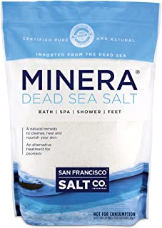 Minera Natural Dead Sea Salt - 5 lbs. Bulk - Fine Grain
