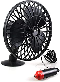 BESPORTBLE Mini Portable Fan Electric Fan Vehicle Truck Low Noise Electric Radiator Slient Suction Fan Cooling Air Supplier for Car