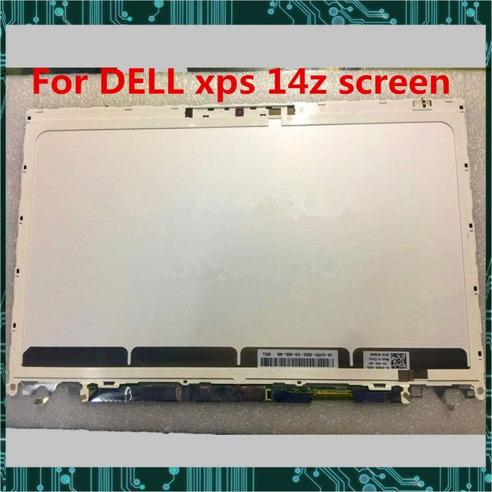 Lysee Laptop LCD Screen - for dell xps 14z Laptop lcd display screen LP140WH6 TJA1 F2140WH6 Fully Tested