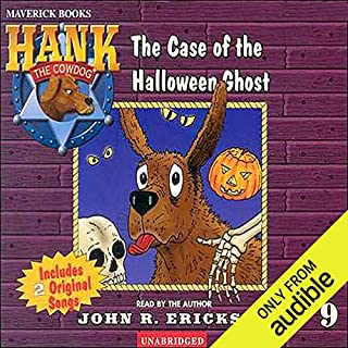 The Case of the Halloween Ghost audiobook cover art