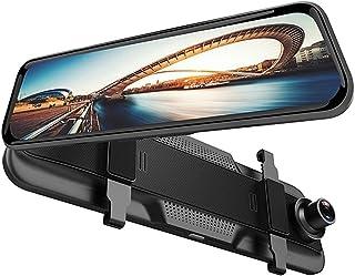 Vídeo do carro Carro DVR 10 polegadas Córrego Media Retrovisor Espelho Infravermelho Night Vision Recorder Video Registrad...