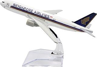 飛行機モデル模型飛行機、シンガポール航空ボーイングb777メタルモデル、1:400メタルプレーン飛行機愛好家、16cmメタル飛行機(装飾玩具ギフト)