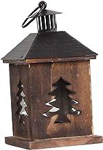 gazechimp Porta-velas estilo vintage enfeites de luz suspensos compactos para castiçal de porta - Árvore de Natal