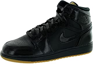 best website 88b8b f8fab Nike Air Jordan 1 Retro High OG BG, Chaussures de Sport - Basketball garçon