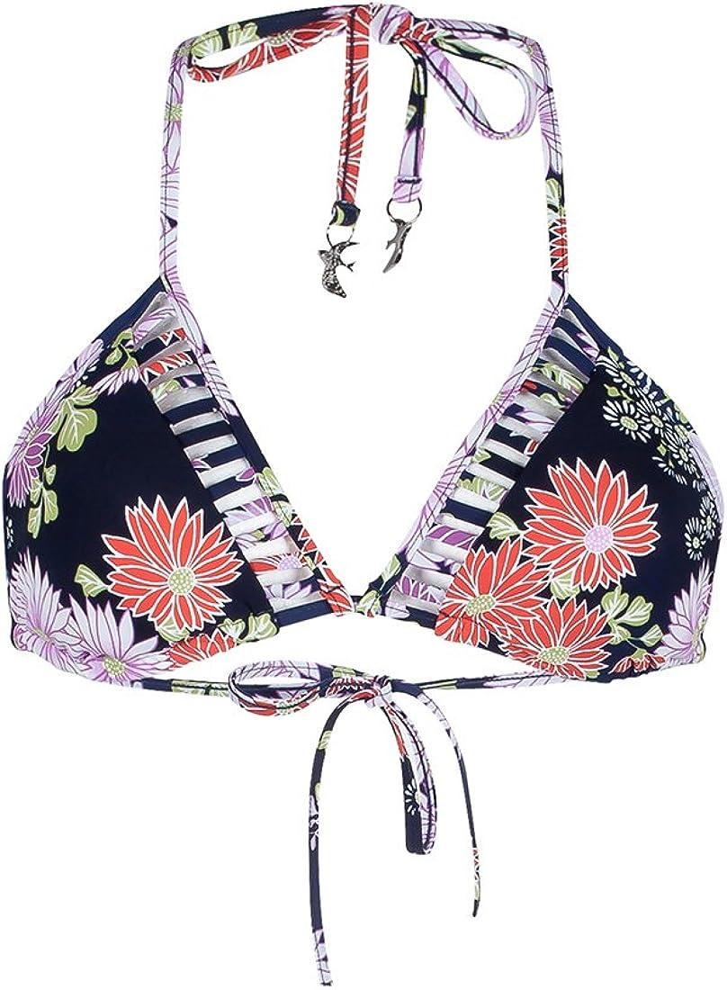 Seafolly Women's Standard Songbird Slide Triangle Bikini Top