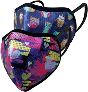 Gear BREATHEASY G95 Unisex 11 to 14 Years Kid's Reusable & Washable 6 Layer NABL Certified Outdoor Protection Face Mask - ...