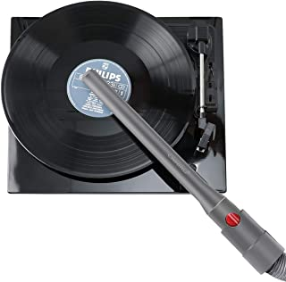LANMU Vinyl Record Cleaner Compatible with Dyson V11 V10 V8 V7 Vacuum Cleaner, Spin Clean Vinyl Record Wand