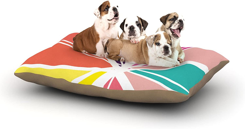 Kess InHouse Belinda Gillies Dove  Fleece Dog Bed, 30 by 40Inch