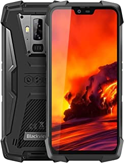 QUZH Cell Phones Smartphone BV9700 Pro, 6GB+128GB, with Night Vision, IP68/IP69K Waterproof Dustproof Shockproof, Dual Back Cameras, 4380mAh Battery, Face ID & Side-mounted Fingerprint Identification,