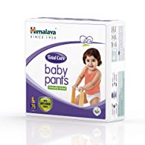 [Pantry] Himalaya Total Care Baby Pants Diapers, Large, 76 Count