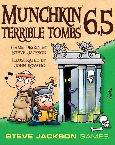 Steve Jackson Games sjg01541–Gioco di Carte Munchkin 6.5–Terrible Tombs
