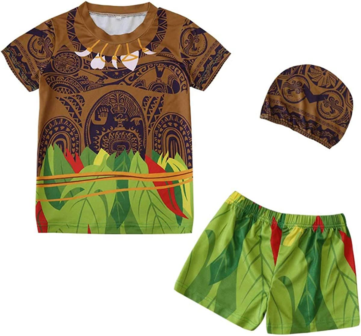Stay Real Children's Swimsuit Baby Split Cospla Tattoo Boy Moana Omaha Mall Max 90% OFF