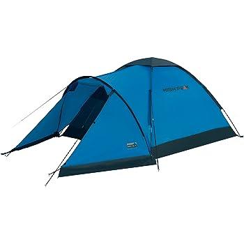 High Peak Kuppelzelt Ontario 3, Campingzelt mit Vorbau, Iglu