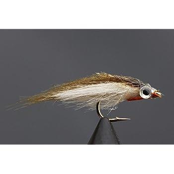Tigofly 6 St/ück sortierte Zonker Marabou Woolly Bugger Luftschlangen Fliegen Lachs Forellenfischen Fliegen K/öder Fliegen-Set Verschiedene Gr/ö/ßen