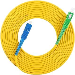 Puente de fibra monomodo de 2 piezas para transmisión de datos de red de acceso a la red de acceso de sistema de comunicación de fibra óptica, 3 metros