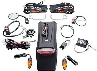 Tusk Motorcycle Enduro Lighting Kit with Handguard Turn Signals - Fits: Yamaha WR400F 1998-2000
