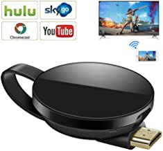 $29 » Wireless Display Dongle,WiFi Portable Display Adapter TV Projector,1080P HDMI Digital TV Receiver, Support Airplay DLNA Miracast, Compatible with iOS/Android Smartphones/Windows/Pixel/Nexus/Mac/Laptop