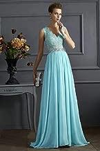 فستان شيفون ازرق مناسبة خاصة -نساء