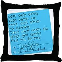 CafePress Grey's Anatomy: Sticky Note Decor Throw Pillow (18