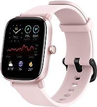 ساعت مچی هوشمند Fitness Amazfit GTS 2 Mini، تناسب اندام فوق العاده سبک، دوام باتری 14 روزه، 70 حالت ورزشی، اندازه گیری سطح SpO2، ضربان قلب، خواب، نظارت بر سطح استرس (صورتی فلامینگو)