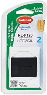 Hahnel HL-F126 1000 184.9 For Fujifilm Digital Cameras Replacement for NP-W126S 1130mAh, 7.2V, 8.1Wh - Black
