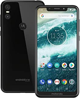 Motorola one (XT1941-4) 4GB / 64GB 5.9-inches Dual SIM Factory Unlocked - International Stock No Warranty (Black)