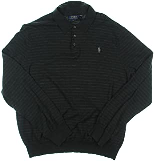 Mens Knit Collared Polo Sweater