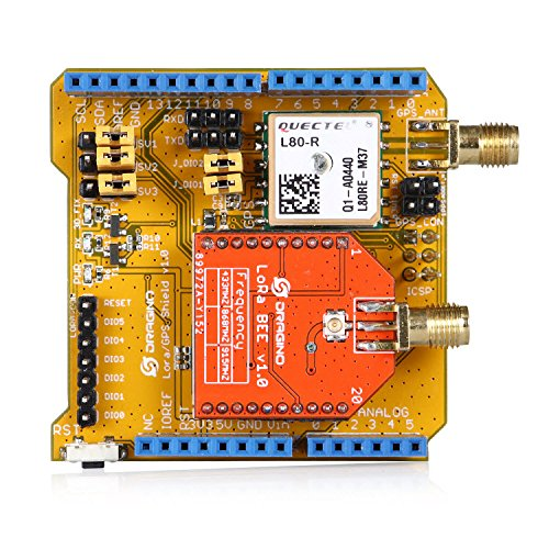 Aihasd Lora/GPS Shield para Arduino 868Mhz