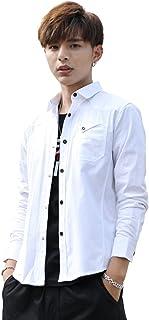 (エイエムエッチ)AMH シャツ メンズ 長袖 カジュアルシャツ ジャケットシャツ コットンシャツ 無地 春 夏 秋 冬