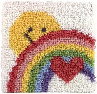 Caron P504 Natura Latch-Hook Kit, Sunshine Rainbow, 12