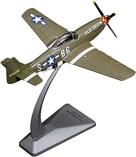 Gn shop Maqueta Avión, P-51 De Combate Mustang 1/72 Americano Modelo De Aviación Militar De La Aleación Gift Set