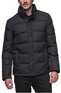 Men's Full Zip Puffer Jacket Black