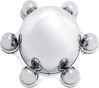 6 lug chrome spider caps